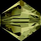 Swarovski Beads 5328 6mm XILION Bicone Olivine