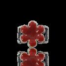 slider 17mm Red Flower
