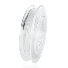 Nylon coated stainless steel wire 0,5mm white
