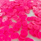 Sequins round flat 8mm pink