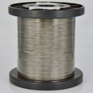 nylon coated steel wire stainless steel wire 0,45mm silver