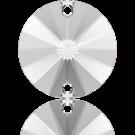 Swarovski Rivoli sew-on stones round 10mm Crystal