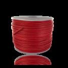 wax cord 0,5mm cotton red round
