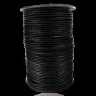 wax cord 2mm cotton black round